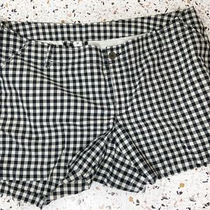 OLD NAVY | Gingham Buffalo Check Shorts Tall